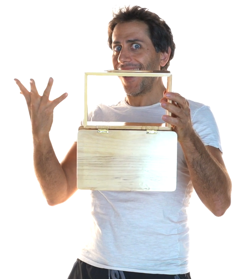 Flip Over Box Magic Trick Gospel Difatta Prop