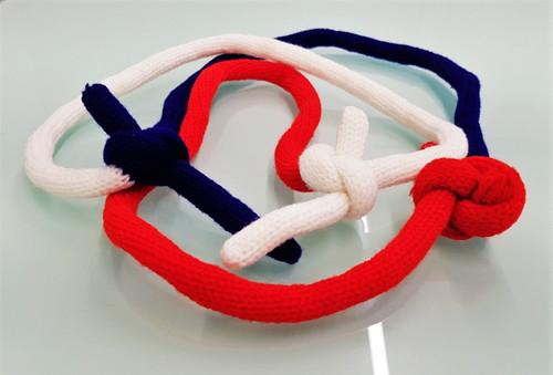 Trinity Multicoloured Rope Link Magic Trick Gospel