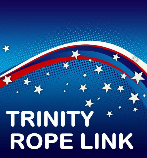 Trinity Multicoloured Rope Link Magic Trick Gospel