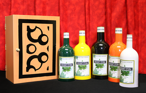 Bottle Production Magic Trick Difatta Box Gospel