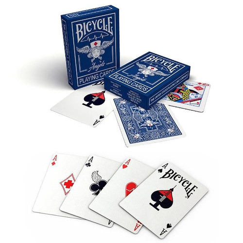 NEW - Angels Playing Cards - Bicycle - Charity Deck Celebrating the Work of Doctors & Nurses