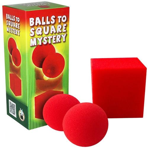 Sponge Balls to Square Mystery Difatta Magic Trick
