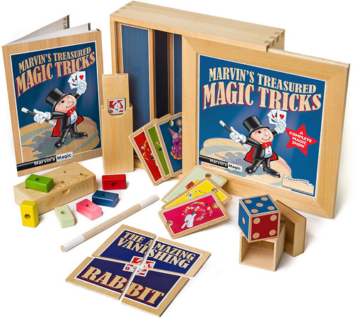 Marvin Magic's Treasured Tricks - Wooden set