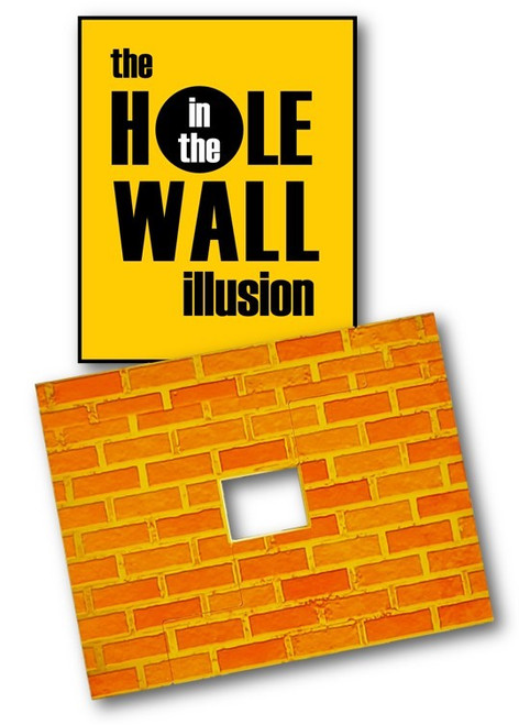 NEW - Hole in the Wall Illusion - The Wall with a Hole on Just One Side! - Houdini - Nehemiah - Empty Tomb - Sin & Salvation