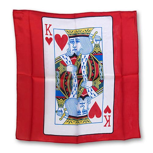 GOSH King of Hearts Silk Magic Trick Gospel