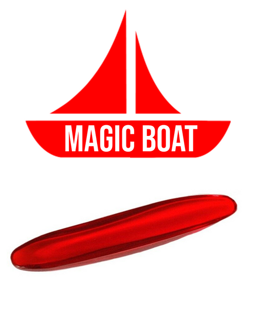 The Magic Boat Puzzle Rattleback Puzzle Trick