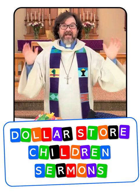Pastor John Stevens Dollar Store Children Sermons Gospel Magic