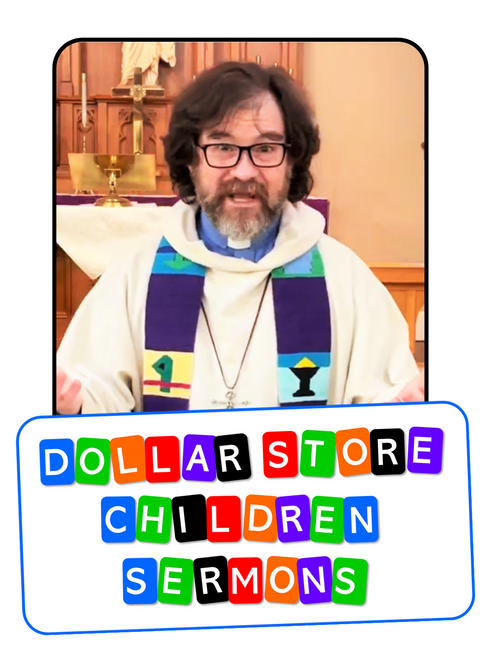Dollar Store Children Sermons - FREE VIDEO - Elijah and the Widow - God Provides - Make a Magic Lunch Sack