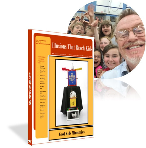 Illusions that Reach Kids eBook Steve Harney Gospel Magic Tricks