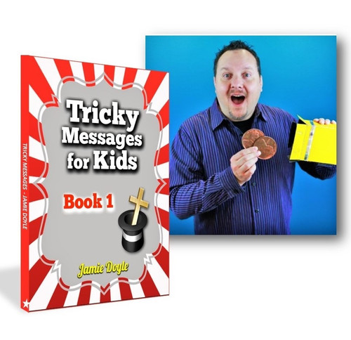 Jamie Doyle Tricky Messages for Kids Book Gospel Magic