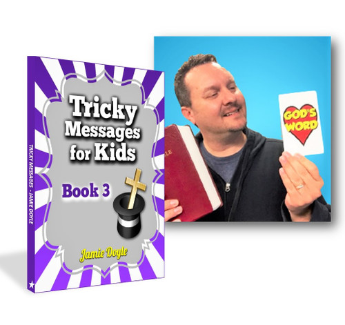 NEW  - Tricky Messages for Kids #3 - eBook & Video Set - 14 Original Gospel Routines by Jamie Doyle - Instant Download
