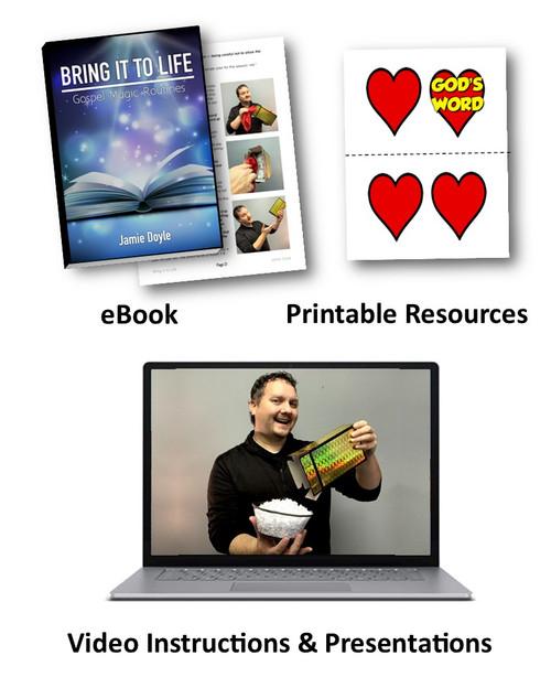 Jamie Doyle Bring It to Life Book Gospel Magic