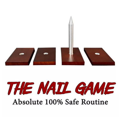 The Nail Game 100% Safe Magic Trick