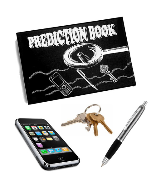 PREDICTION BOOK 2.0 magic trick gospel mentalism mind