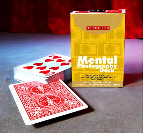 Mental Photography Deck Card Magic Trick