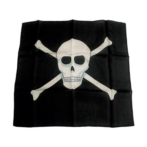 Skull Silk by GOSH magic Trick Square 18 Inch