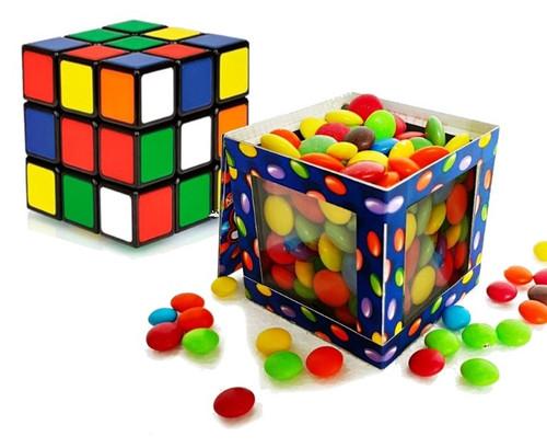 Smarties Cube Candy Rubiks Cube Gospel Magic Trick