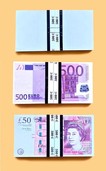 Smart Bill Tora Magic Euro Sterling Money Magic Bill Note