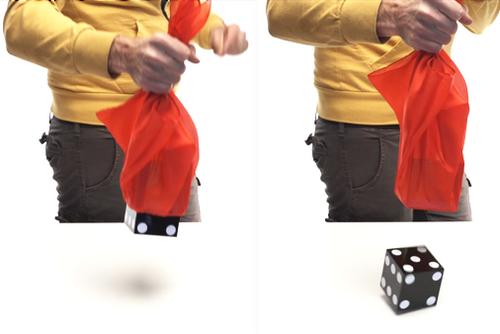 DiFatta Die Through Silk Melt Penetrations Magic Trick Illusion
