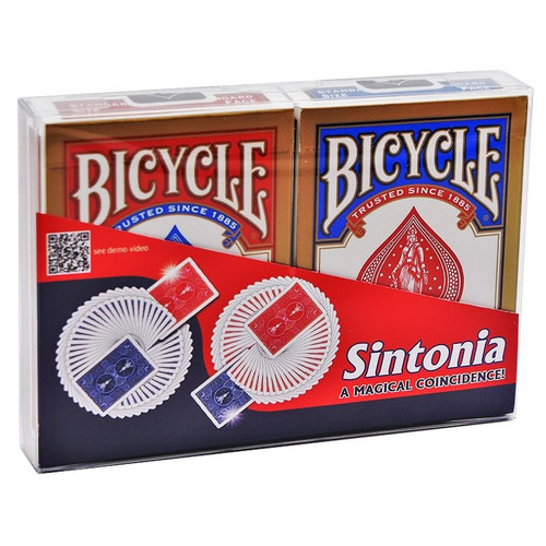 Sintonia Card Trick DiFatta Magic Matching Red & Blue Cards
