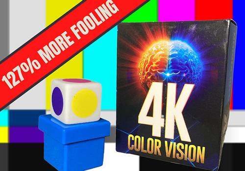 4K Color Vision Mentalism Mind Reading Magic Trick