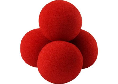 Classic -  Red Sponge Balls - PRO - They appear, vanish, multiply and more!