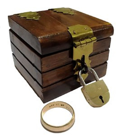 Coin Ring Box Vanish Magic Trick