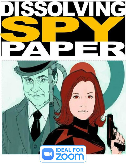 Best Seller - Dissolving Spy Paper - Paper melts in water -Ideal to Illustate Sins being Washed Away