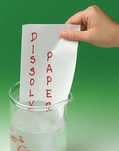 Dissolving Paper Gospel Magic Trick