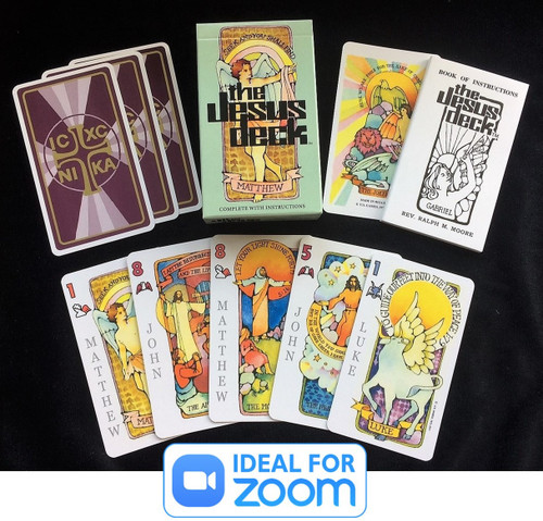 Jesus Deck Bible Gospel Playing Cards Magic Tricks