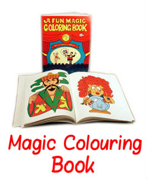 Fun Magic Colouring Book