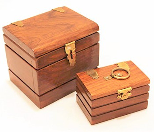 Double Locked Boxes Magic Tricks