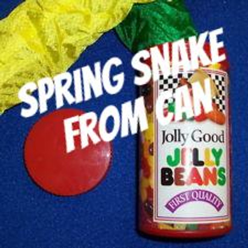 Spring Snakes from Jelly Bean Can Joke Gag Magic Trick Gospel