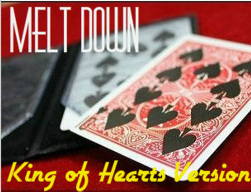 Melt Down King of Hearts Magic Trick Gospel
