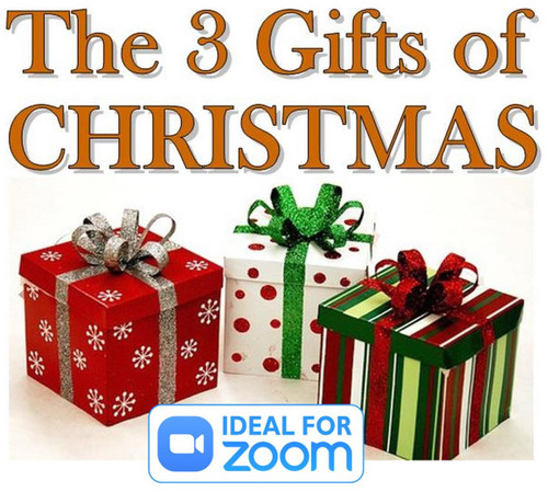 The 3 Gifts of Christmas - The story of the Magi told in with rope magic and in verse!