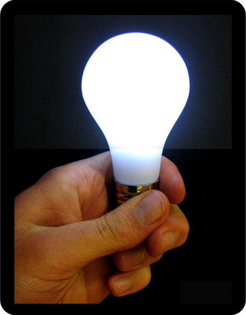 Magic Trick LED bulb Gospel Christian Light of the World