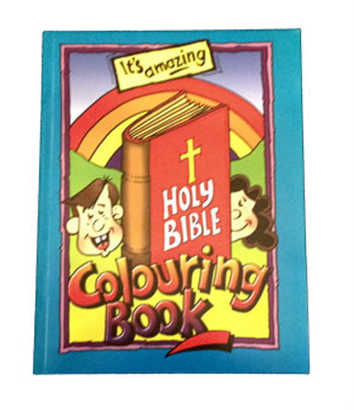 Best Seller - Holy Bible Colouring Book - The pages of this book ...
