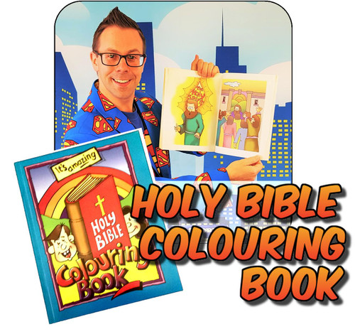 Bible Colouring Book Mission Magic Trick Gospel