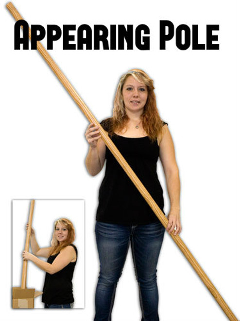 Appearing Pole Magic Trick Wood Gospel