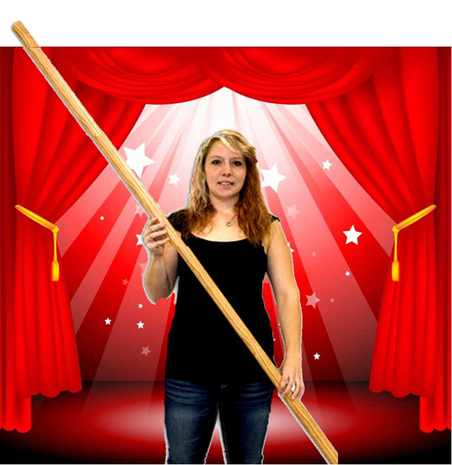 Appearing Pole Magic Trick Wood Gospel