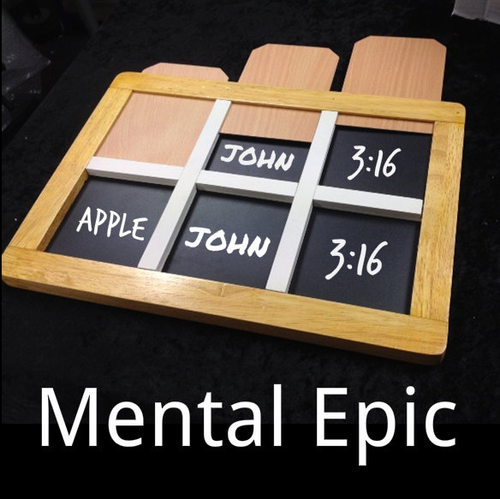 Mental Epic Standard Mind Magic Trick Mentalism Gospel