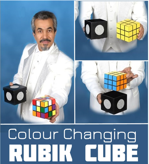 Tora Color Changing Rubik Cube Magic Trick