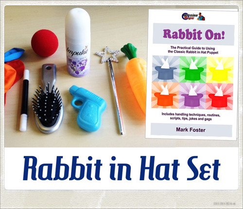Rabbit in Hat Props & Booklet