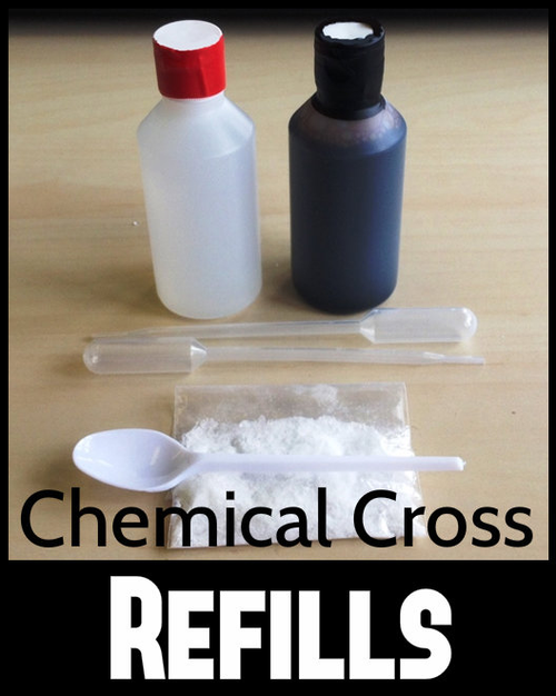 Chemical Cross Cleansing Cross Magic Trick Gospel Refills