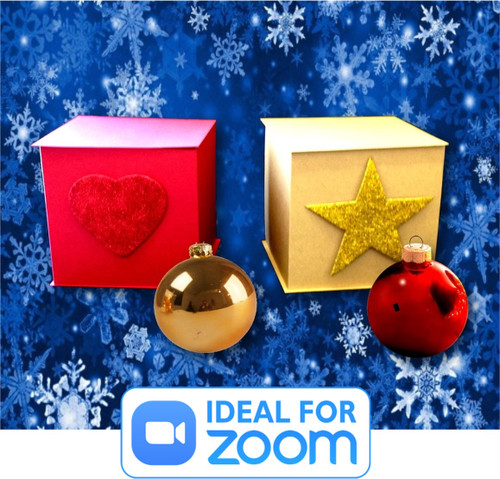 Best Seller - Magical Christmas Boxes - Fun Nativity Magic as the baubles jump from one sealed box to another.