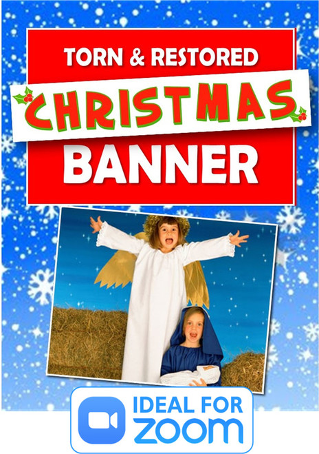 Torn & Restored Christmas Banner Gospel Magic Trick