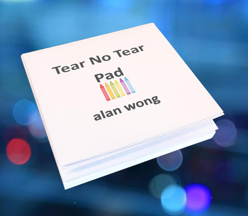 Tear No Tear Pad Alan Wong Magic Trick Gospel Funny