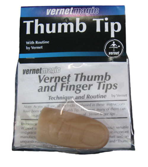 Vernet Thumb Tip - Regular Soft -  Small objects appear and disappear in your bare hands!