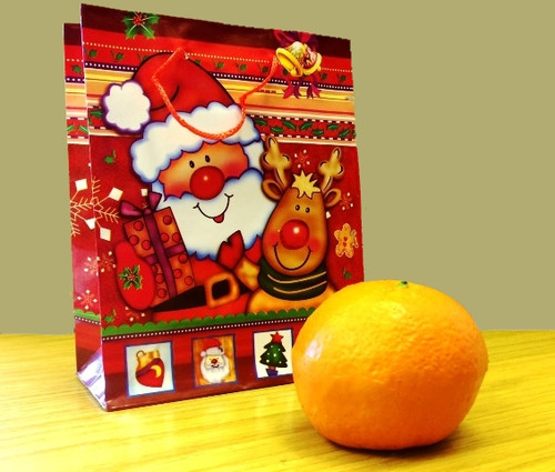 Appearing Christmas Orange Magic Trick