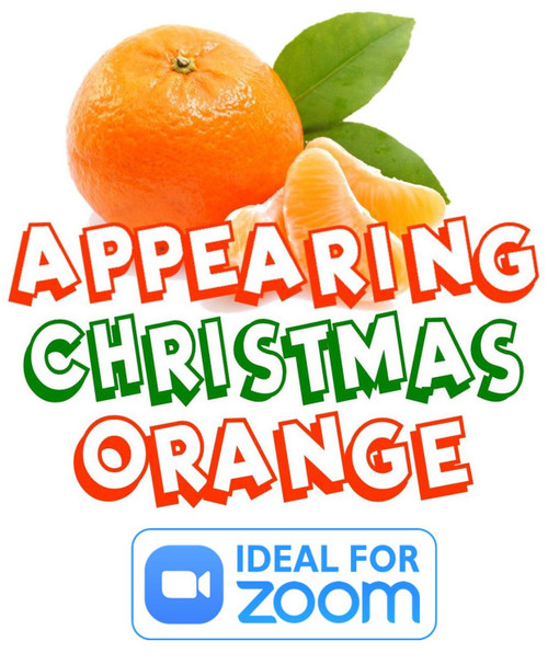Appearing Christmas Orange Magic Trick